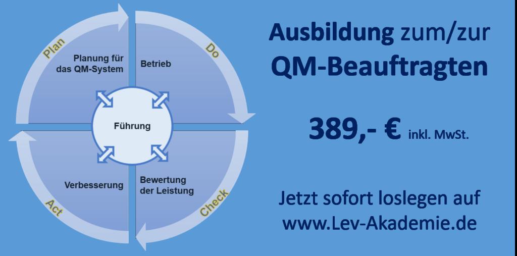 Online Ausbildung QM-Beauftragte